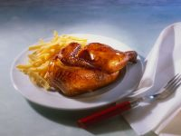 Chicken with French Fries recipe