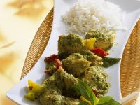 Chicken with Green Curry Paste recipe