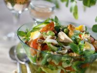 Chicken with Leaves and Tomatoes recipe