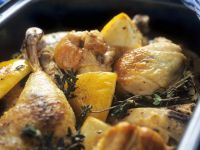 Med-style Chicken and Lemon Bake