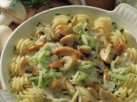 Chicken with Mushrooms and Fresh Cucumber recipe