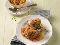 Chicken with Papaya Salsa recipe