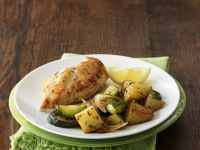 Chicken with Potatoes and Zucchini recipe