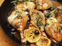 Chicken with Preserved Lemons and Olives recipe
