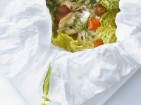 Chicken with Vegetables En Papillote recipe
