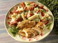 Chicken with White Asparagus and Strawberries recipe