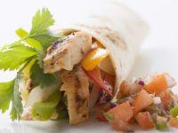 Chicken Wrap with Salsa recipe
