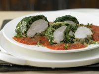 Chicken Wrapped in Chard