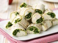 Chicken Wraps with Arugula recipe