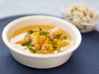 Chickpea and Apricot Curry with Almonds recipe