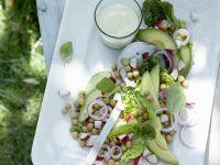 Chickpea and Avocado Salad recipe