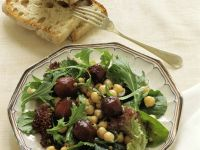 Chickpea and Beet Salad recipe