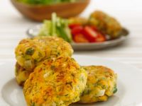 Chickpea and Pasta Patties recipe