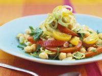 Chickpea and Peanut Salad recipe