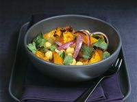 Chickpea and Pumpkin Salad recipe