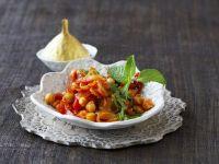 Chickpea and Tomato Curry recipe