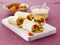 Chickpea and Veg Tortillas recipe