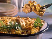 Chickpea Casserole with Rabbit recipe