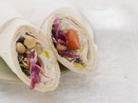 Chickpea Wraps with Tomato recipe
