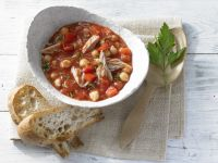 Chickpeas and Tuna recipe