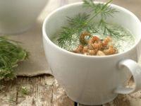 Chilled Cucumber Bisque in Mugs recipe