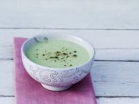 Chilled Cucumber Soup with Pepper recipe