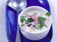 Chilled Radish and Buttermilk Soup recipe