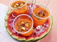 Chilled Soup with Melon recipe