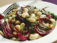 Chilled White Bean Salad recipe