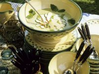 Chilled Zucchini and Apple Soup recipe
