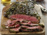 Argentinian-style Grilled Flank Steak recipe