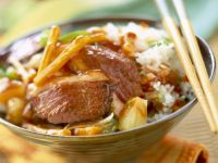 Chinese Duck Stir-fry recipe