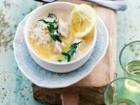 Chinese Grain and Citrus Broth recipe