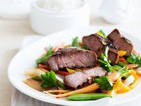 Chinese Lamb Steaks recipe