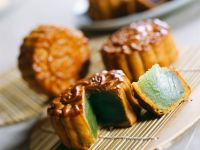 Chinese Mooncakes with Lotus Seed Filling recipe