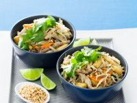 Chinese Noodle and Peanut Bowls recipe