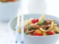 Chinese Pork Saute recipe