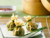 Chinese Vegetarian Parcels recipe
