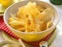 Chips with Fruit Dip and Avocado Dip recipe
