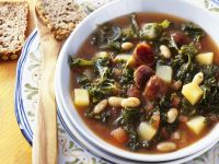 Cured Pork and Bean Broth recipe