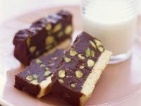 Choc and Nut Biscuit Slice recipe