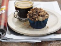 Choc Chip Muffins with Crumble Topping recipe