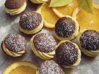 Choc-orange Cake Pies recipe