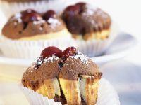 Choco-Cherry Muffin Cakes recipe