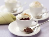 Chocolate and Cherry Cups recipe