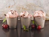 Chocolate and Cherry Ice Cream recipe