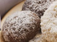 Chocolate and Coconut Cookies recipe