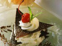 Chocolate and Cream Stack recipe