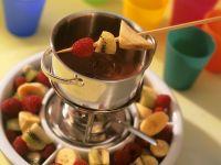 Chocolate and Fruit Fondue recipe