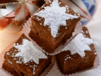 Chocolate and Macadamia Christmas Brownies with Nuts recipe
